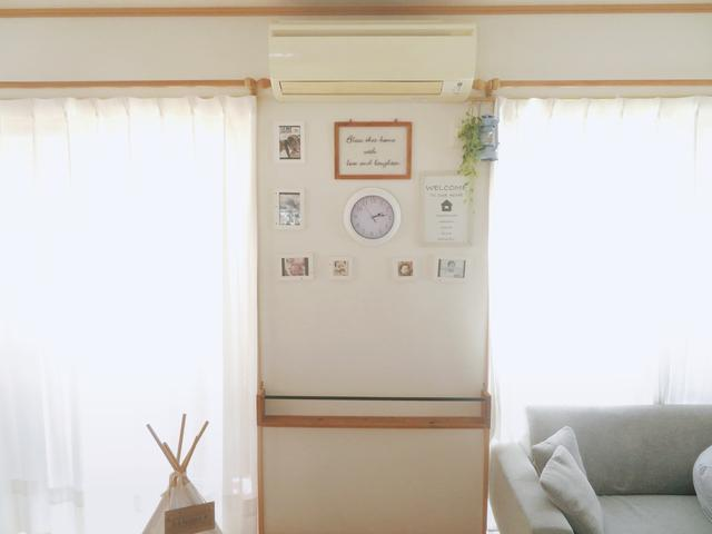 【簡単DIY】ダイソークッションレンガシートで壁がおしゃれに大変身♡の画像