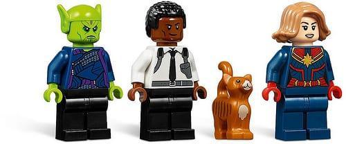 Legos Captain Marvel Und Das Skrull Attack Set Wurden Enthüllt