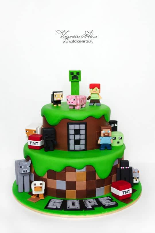 11 Unglaubliche Minecraft Geburtstagskuchen Spielinformationen
