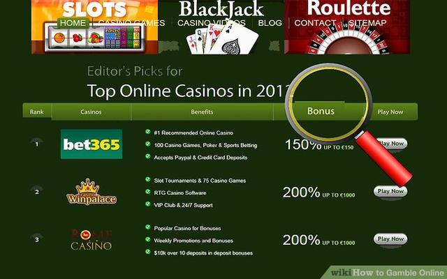 Play casino online and win real money