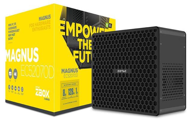 Zotac intègre un processeur à 6 cœurs et la GeForce RX 2070