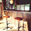 キッチンカウンターをDIYでカフェ風に!!の画像
